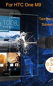 protector filme de tela de vidro temperado à prova de explosão angibabe 0,3 milímetros 2.5d para HTC One M9