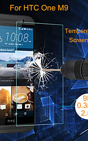HTC 한 M9에 대한 angibabe의 0.3mm의의 2.5D 폭발 방지 강화 유리 스크린 필름 보호