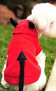 Röd - Bröllop/Cosplay - Polar Fleece - T-shirt/Huvtröjor - till Hundar/Katter