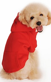 FUN OF PETS® Casual Solid Color Fleece Hoodie for Pets Dogs(Assorted Sizes and Colours)