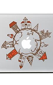 de global village decoratieve skin sticker voor MacBook Air / Pro / Pro met Retina-display