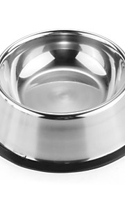 FUN OF PETS® High-Quality Stainless Steel Antiskid Feeding Bowl for Pets (Assorted Sizes)