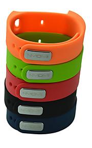 substituição de silicone alça colorida pulseira pulso para i5 iwown além de relógio inteligente