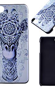 아이팟 터치 5 casefor 기린 패턴 프로스트 PC 소재 전화