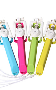 Latest Ring Design Mini Extendable Wireless Selfie Stick Remote Shutter Adjustable Holder (L=24cm)