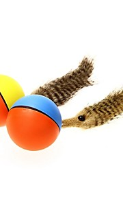 FUN OF PETS® Funny Electric Beaver Design Weasel Ball Playing Balls Pets Toy for Pets Cats