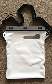 12 Inch IPad Air/IPad 2/3/4 Dry Bag with Matching ABS clip, Shoulder Strap and  Ipad with Oblique White Handholder