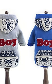 "FUN OF PETS® Casual ""Boy"" Words Printing Hoodie with  Back Pocket  for Pets Dogs (Assorted Sizes and Colours)"
