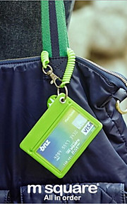 Bus Card Sets Lanyard Badge Access Card Security Chain Slim Korea Lovely Bank Card