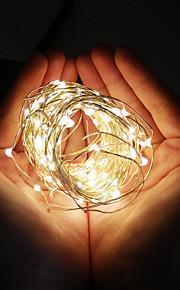 konge ro ny mote 12m 100led solar kobbertråd lys vanntett partiet lys