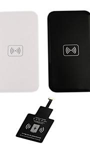 chargeur sans fil i-wc-wc2-sam fixé pour appareils mobiles / 5/6 de HTC et d'autres samsung (noir / blanc)