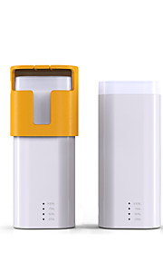 4000Mah  Power Bank Small Portable External Batttery with Flashlight