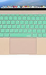 xskn silicone lingua copertura della pelle della tastiera ebraico per macbook 12 '' noi versione