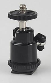 1/4 parafusos acessórios da câmera adaptador de sapata