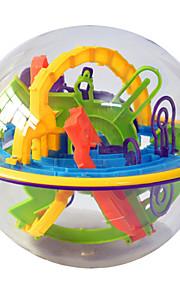 nye 3d magiske intellekt labyrint bold 158 niveau kids børn balance logik evne puslespil pædagogiske uddannelse værktøjer