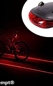 Cykellys Laser 1 Tilstand 1000 Lumens selvforsvar Andre AAA Cykling / Rejse - Andre , Sort ABS