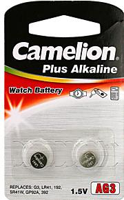 Camelion alkaline knoopcel grootte ag3 (2 stuks)