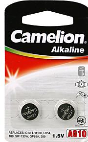 Camelion alkaline knoopcel grootte TL10 (2 stuks)