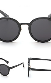 Solbriller kvinder's Moderne / Mode Rund Sølv / Guld Solbriller Full-Rim