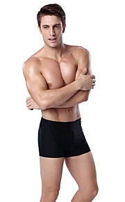 Others Men's Swimwear Breathable / Quick Dry / Wearable / Shockproof Swimwear Bottoms  Adjustable Others Black L / XL