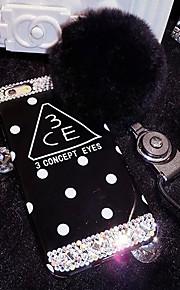 lady®luxurious / personlighed telefon Case for iPhone 6 plus / 6s plus (5,5 tommer), dekoreret med Camellia diamant