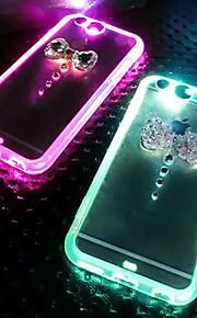 lady®elegant / luksuriøse / personlighed telefon etui til iPhone 5 / 5s (4,0 tommer), dekoreret med Camellia diamant