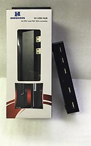 5-Port Hub d'expansion d'extension USB pour PS3 slimfor Sony PlayStation 3 ps3 consoles de jeux mince
