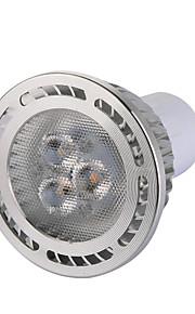 450 LM 따뜻한 화이트 / 차가운 백색 높은 밝은 스포트 라이트 AC 85-265 V를 주도 3 × 3030 SMD 승 GU10 5