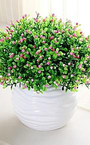 Plástico Plantas Flores artificiais