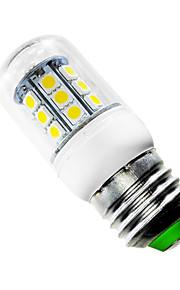 3W E26/E27 LED-kornpærer T 27 SMD 5050 280 lm Varm hvit AC 85-265 V