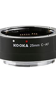 entrada de 3,5 milímetros kooka kk-c25 af tubo de extensão com a exposição TTL auto-foco para Canon EF 25 milímetros&câmeras SLR EF-S