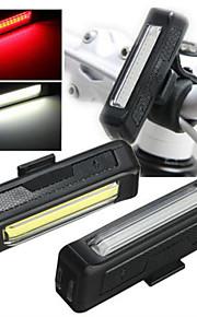 Comet USB Rechargeable Bicycle Helmet Lamp Handlebar Frame Tube Flashing 6 Mod lights 2 Light Emitting Colors Available