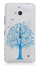 árbol del patrón de vida caja del teléfono del tpu material para Nokia N640