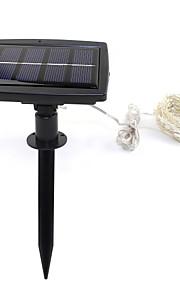 150led solcelledrevet streng lyser stjerne sølv kobbertråd fairy stemning for utendørs hager boliger Christmas Party