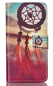 Red Dreamcatcher Painted PU Phone Case for Sony Xperia Z5 Compact