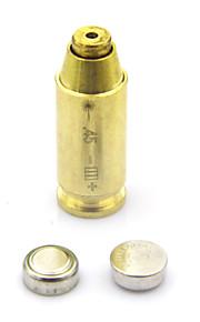 CAL: 45 Red Dot Laser Sight Bullet Shaped Bore Sighter Cartridge Boresight