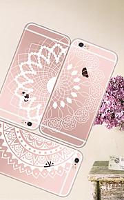 maycari®beautiful weiße Mandala tpu zurück Fall für iPhone 6 / iphone 6s (verschiedene Farben)