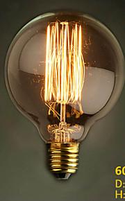 G95 Straight Wire 110V-240V 60W Round Dining Table Retro Bar Creative Modern Decorative Nostalgia Edison Bulb