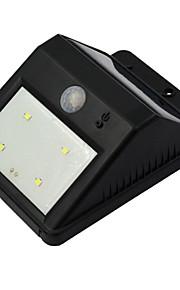 solenergi bevegelsessensor trådløs LED lys utendørs hage sikkerhet vegglampe