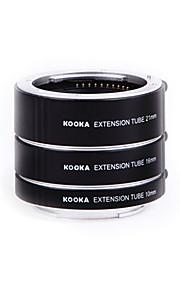 Kooka kk-SE47 af bronze macro tubos de extensão para sony e-mount (10 milímetros 16 milímetros 21 milímetros) câmeras