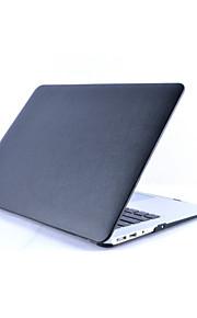 맥북을위한 패션 인조 가죽 상단 표면 하드 쉘 케이스 커버는 프로 13/15 인치 (모듬 된 색상)