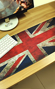 british flag maßgeschneiderte Rechteck rutschfeste Gummi super großes Gaming-Maus-Pad Matte (67 * 30 * 0,3 cm)