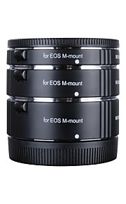 Kooka kk-cm47 tubos de extensão de cobre macro af para close-up imagem para Canon EOS m (10 milímetros 16 milímetros 21 milímetros)