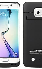 4200 mah caso la ricarica della batteria estesa batteria di sostegno caso del blocco alimentatore per il bordo Samsung Galaxy S6