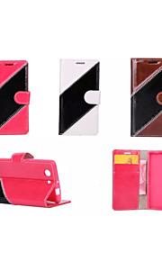sarga cubierta de la bolsa híbrido caja de la carpeta del cuero del tirón de lujo para sony xperia Z3 / Z4 / z4 Mini / e4