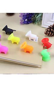 Lovely Pig Design Desktop Chuck Bracket for Samsung and Others(Random color)