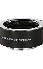 kooka kk-s25 af bronze tubo de extensão com exposição automática TTL para sony câmeras SLR 25 milímetros