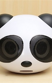 söpö panda muoto kannettava stereo puhuja työpöydälle kannettava muistikirja matkapuhelin