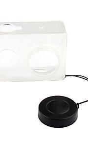 pannovo caixa de plástico + tampa da lente para Xiaomi yi transparente