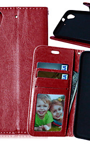 Luxury PU Leather Card Holder Wallet Stand Flip Cover With Photo Frame Case For HTC Desire 626 (Assorted Colors)